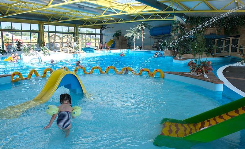 Location mobil home atlantique vacances en camping for Camping le croisic avec piscine couverte