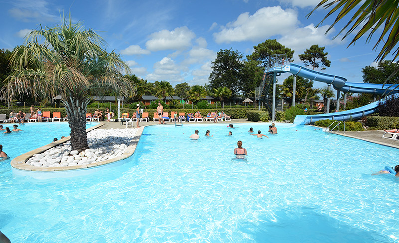 Camping viviers mobil home lege cap ferret 33950 for Camping gironde piscine