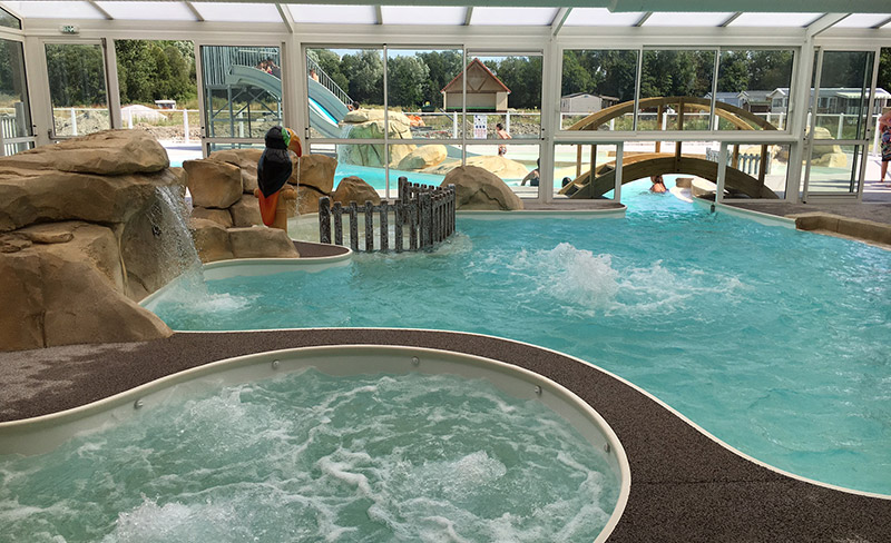 Camping Roseliere Piscine Couverte