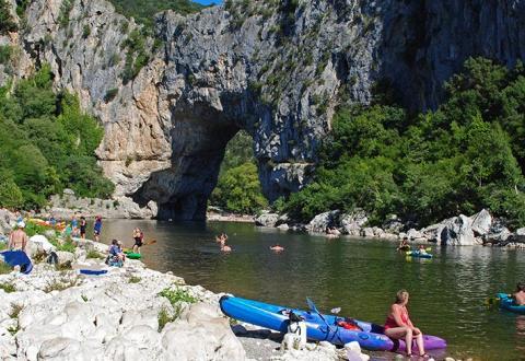 rhone alpes Pont-d'arc-Canoes