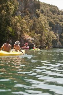 camping-farigoulette-canoe-verdon