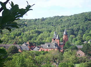 Collonges-la-rouge-Dordogne
