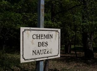 "Toponymie du chemin ""Les Nauzes"""