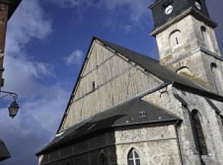 Eglise Saint-Hélier de Beuzeville et ses vitraux