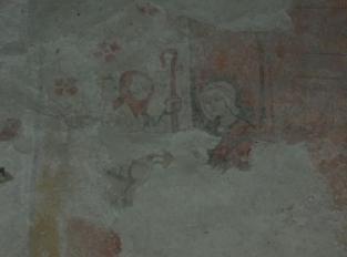 Peintures murales de l' église de Richet