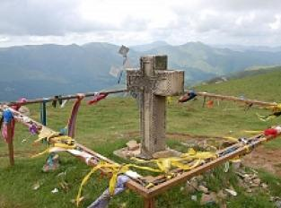 Orisson - la Croix Thibault