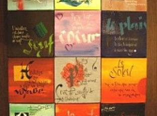 Calligraphe enlumineuse : Atelier Gryfonne