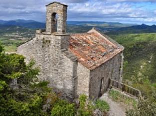 Ancien château et chapelle de St Michel de Mercoirol