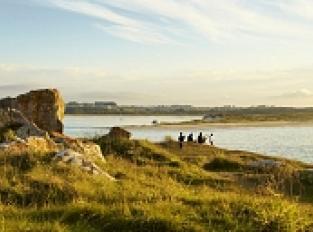 Pointe de Pen an Théven vue sur les dunes de Keremma