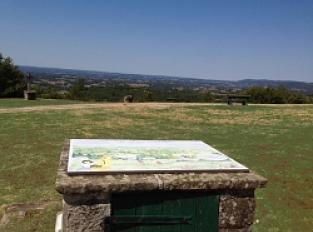 Table d'orientation de Puy d'Arnac