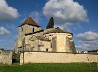 L'église Notre-Dame de Tayac