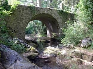Pont au dessus du ruisseau de L'Infernet