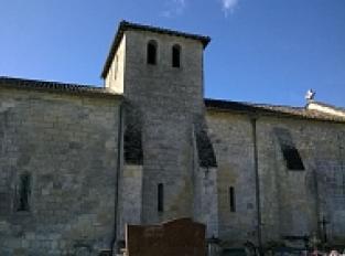 L'église romane de Saint-Cibard