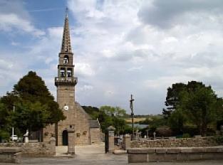 Eglise Saint-Ildut et son cimetière marin