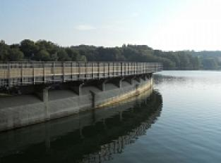 Barrage du lac de Pareloup