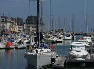 Port de plaisance de Courseulles sur Mer