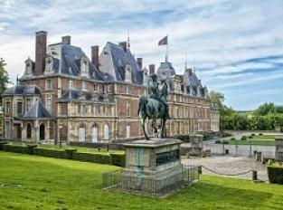 Parc et Jardin à la française du Château d'Eu