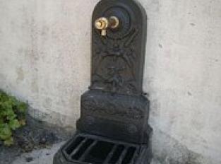 Fontaine publique : eau potable