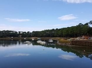 Le lac marin d'Hossegor
