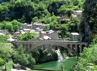 Village de St Chély du Tarn