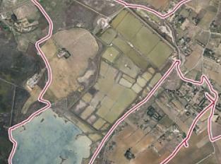 Le site naturel protégé des salines de Villeneuve