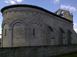 L'église Saint-Martin de Francs
