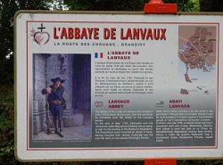 Brandivy, (ancienne) Abbaye de Lanvaux