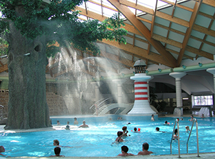 Piscine Couverte Camping Terme Catez Idees