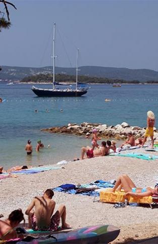 plage-cote-dalmate-croatie