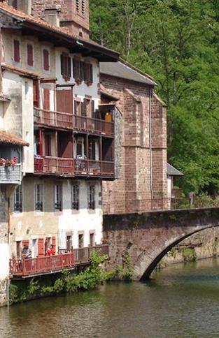 st-jean-pied-de-port au Pays Basque
