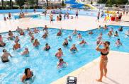 camping le bosc-animations-piscine