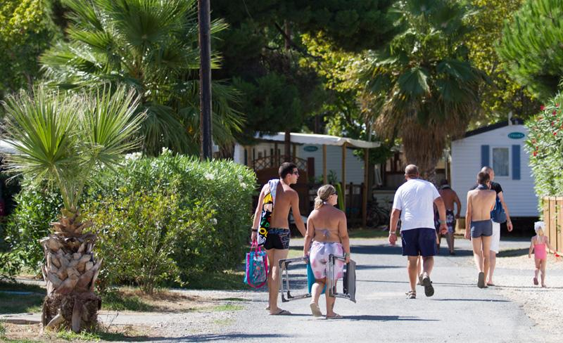 camping le bosc-ambiance