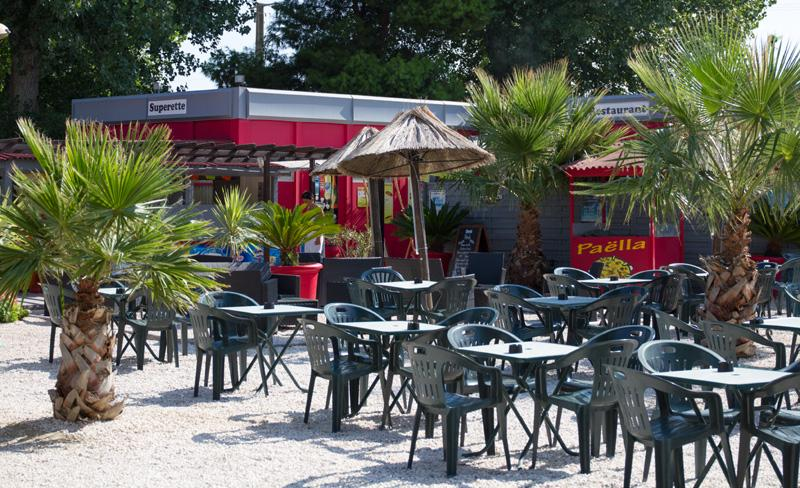 camping le bosc-services-bar
