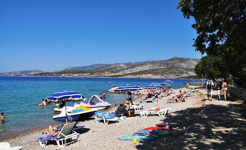 camping-croatie-klenovica-bord-plage-2019