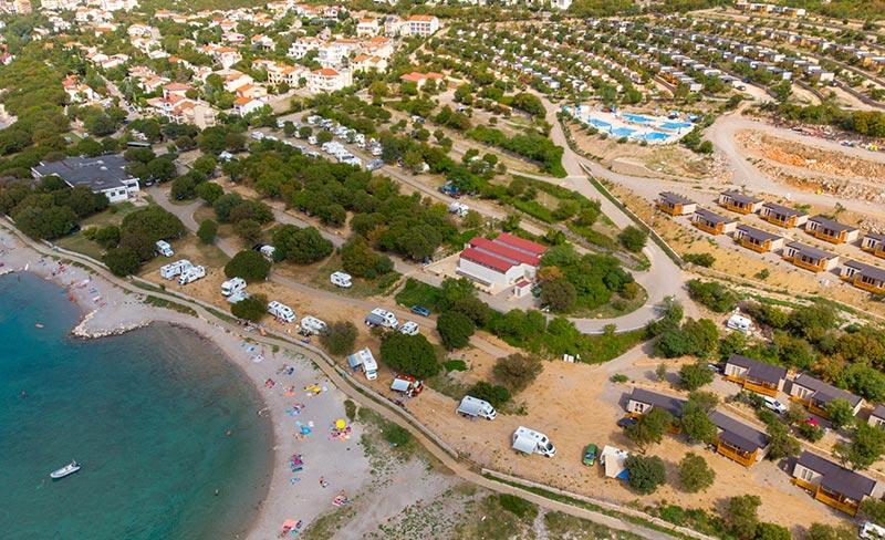 camping-croatie-klenovica-vue-aerienne-2019
