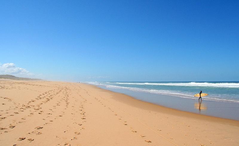 camping-dune-de-contis-plage-surf