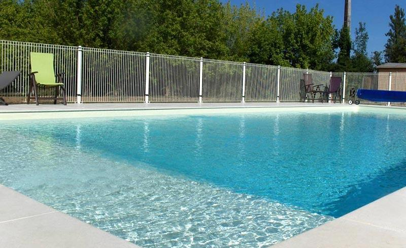 Camping Pomport-Beach piscine